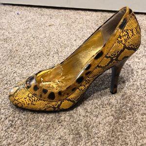 Naughty Monkey heels, size 8